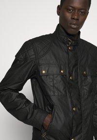 Belstaff - BROOKSTONE JACKET - Summer jacket - black - 5