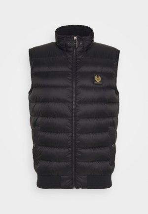 CIRCUIT GILET - Waistcoat - black