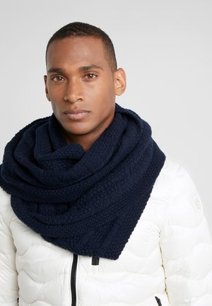 CITY CABLE SCARF - Schal - dark ink