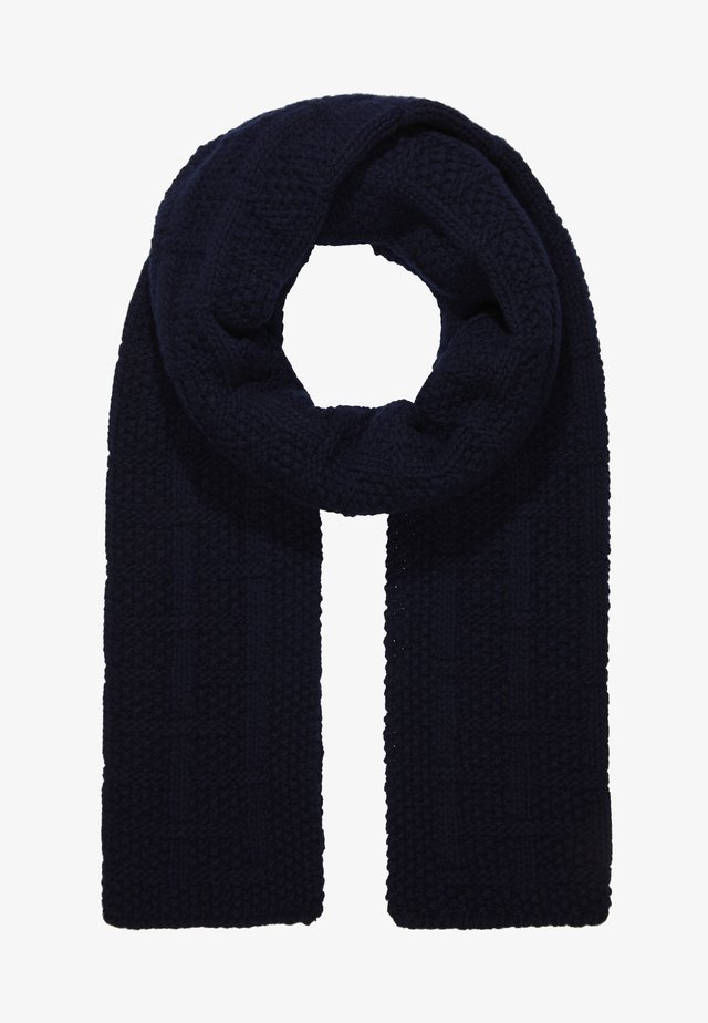 CITY CABLE SCARF - Scarf - dark ink