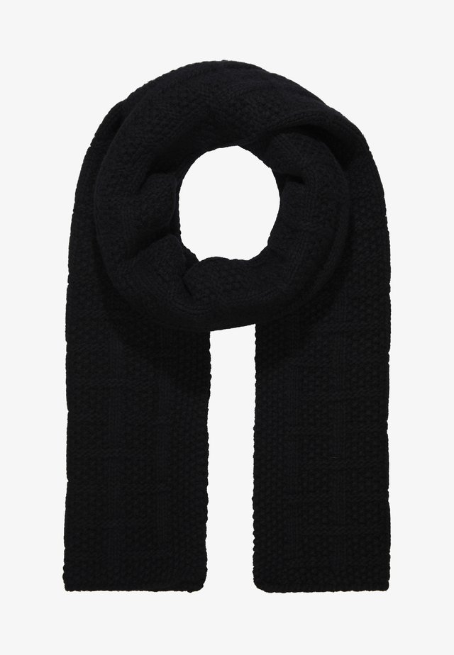 CITY CABLE SCARF - Scarf - black