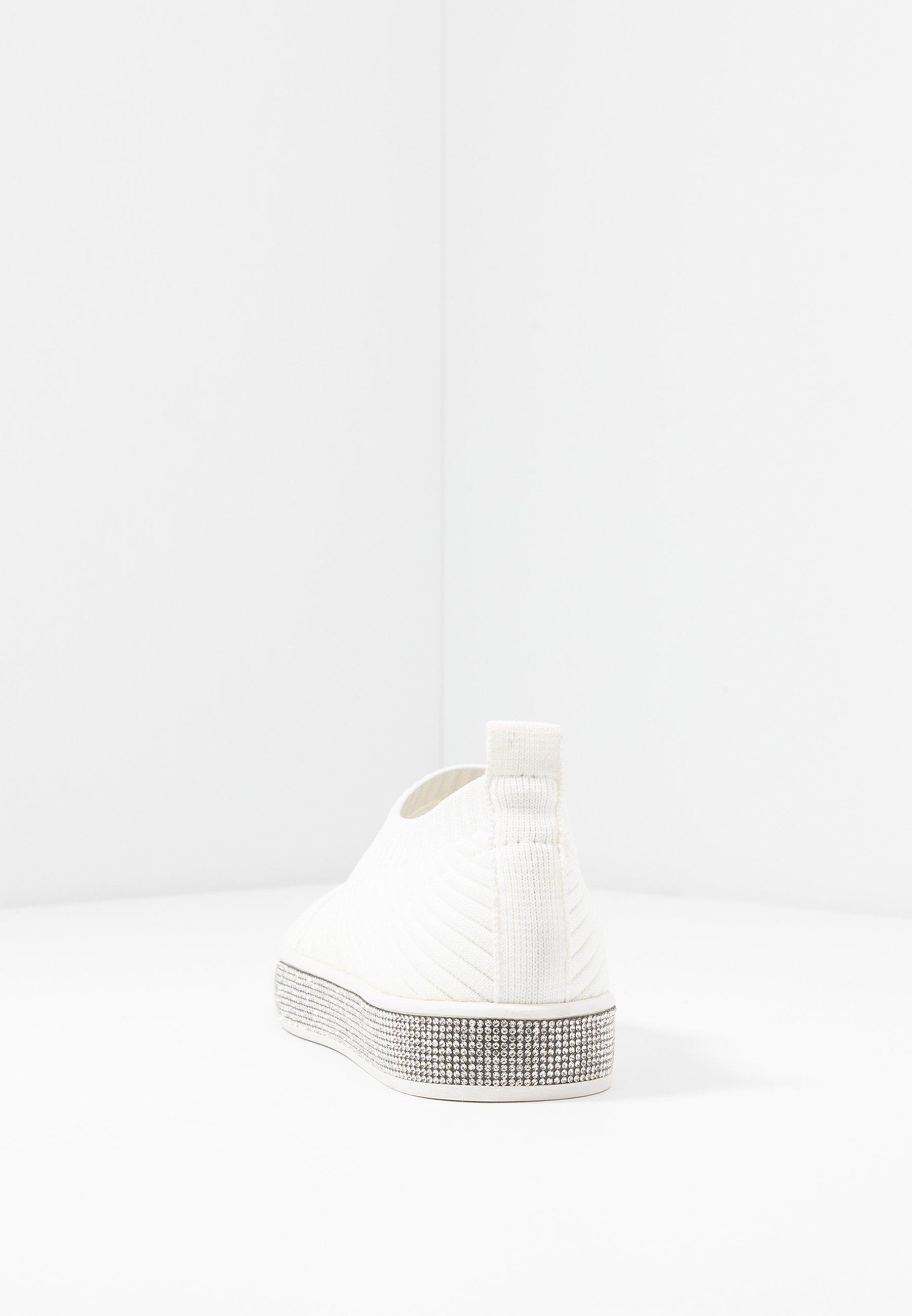 Bernie Mev IRIS - Półbuty wsuwane - white