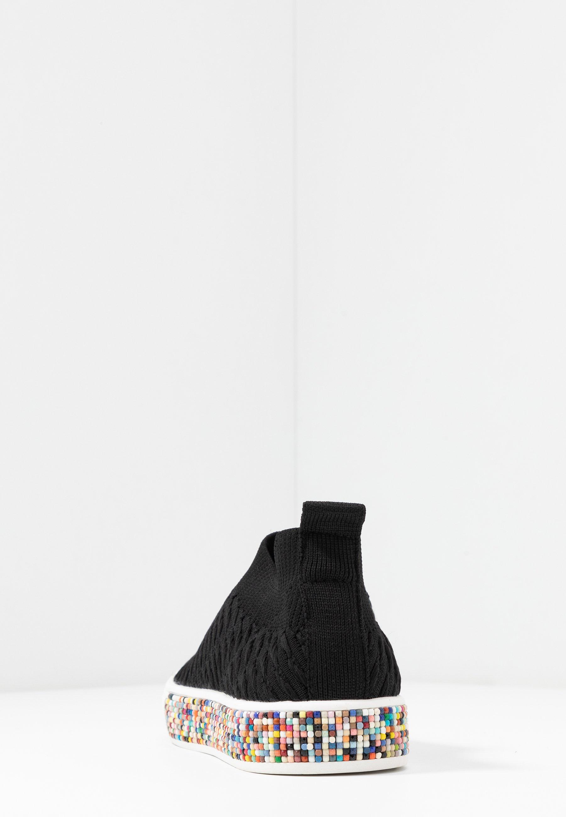 Bernie Mev AZAMI - Slippers - black/multicolor