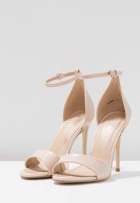 BEBO - GINNY - Sandály na vysokém podpatku - nude - 4