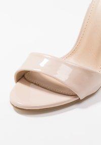 BEBO - GINNY - Sandály na vysokém podpatku - nude - 2