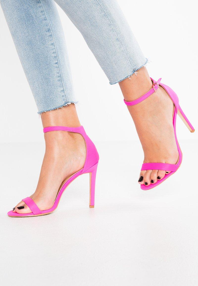 BEBO - Sandales à talons hauts - pink