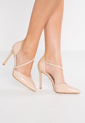 MATILDA - Zapatos altos - nude