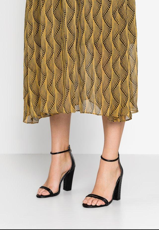 JACINDA - Sandály na vysokém podpatku - black