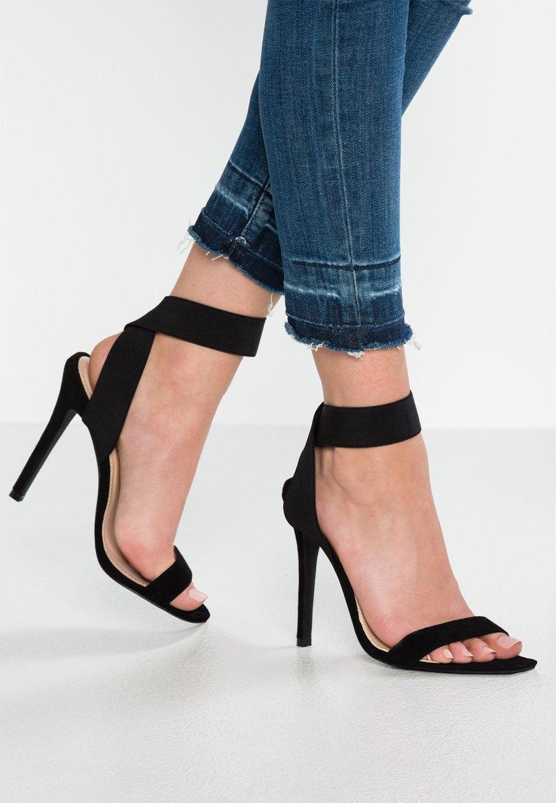 BEBO - Sandały na obcasie - black