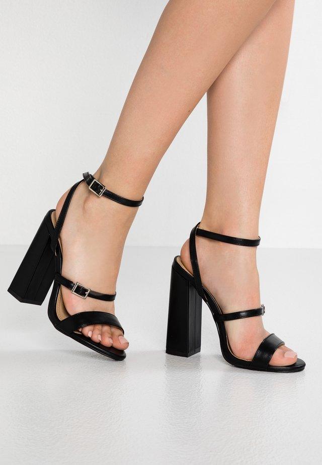 KIRA - Sandály na vysokém podpatku - black
