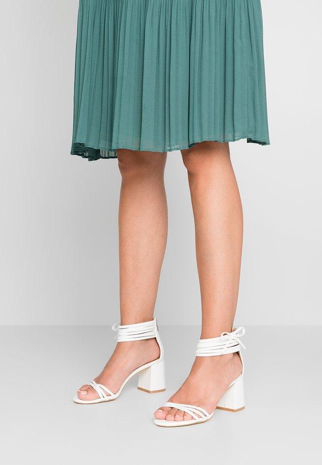 PRESLEY - Sandals - white