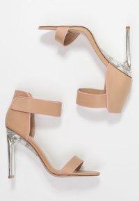 BEBO - VESPER - Sandály na vysokém podpatku - nude/pink - 3