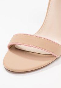 BEBO - VESPER - Korolliset sandaalit - nude/pink - 2