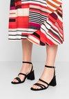 BEBO - CLARITY - High Heel Sandalette - black