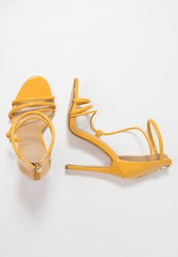 BEBO - MILA - High heeled sandals - yellow - 3