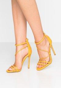 BEBO - MILA - High heeled sandals - yellow - 0