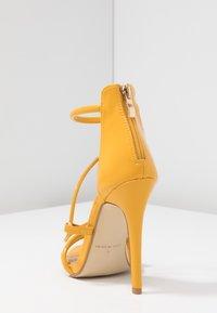 BEBO - MILA - High heeled sandals - yellow - 5