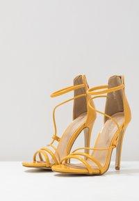 BEBO - MILA - High heeled sandals - yellow - 4
