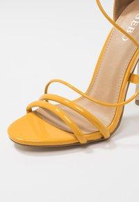 BEBO - MILA - High heeled sandals - yellow - 2