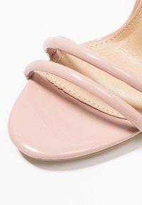 BEBO - MILA - Sandales à talons hauts - nude - 2