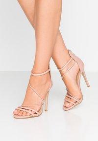 BEBO - MILA - Sandales à talons hauts - nude - 0