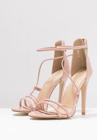 BEBO - MILA - Sandales à talons hauts - nude - 4