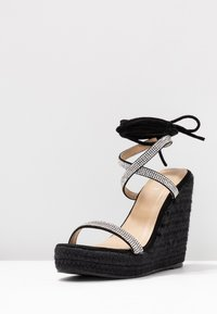 BEBO - DULCIE - High heeled sandals - black - 4