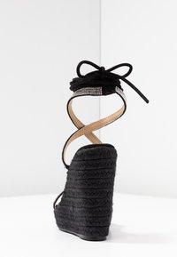 BEBO - DULCIE - High heeled sandals - black - 5
