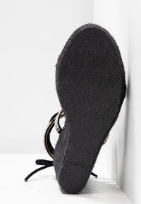 BEBO - DULCIE - High heeled sandals - black - 6