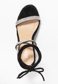 BEBO - DULCIE - High heeled sandals - black - 3