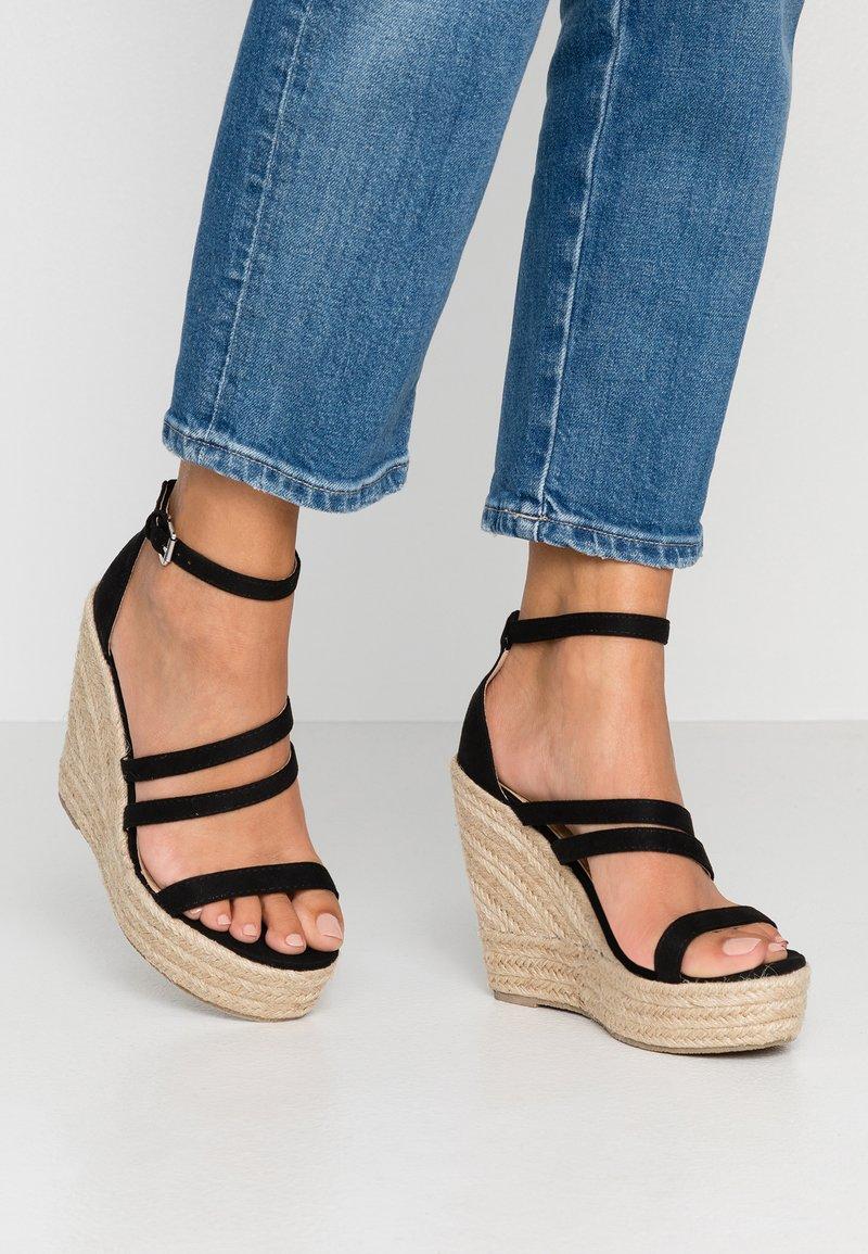BEBO - ESTHER - Højhælede sandaletter / Højhælede sandaler - black