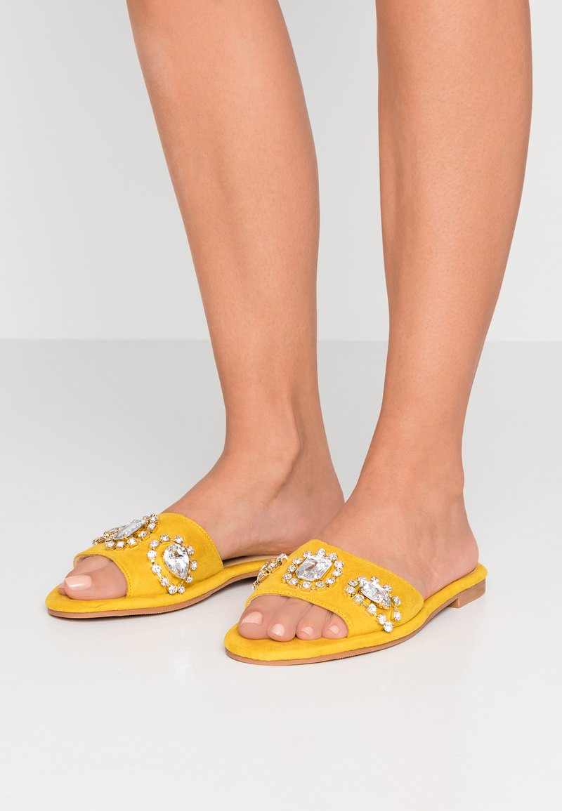 BEBO - DARCY - Mules - yellow