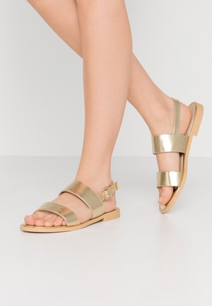 ABIGAIL - Sandals - gold