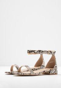 BEBO - HARPER - Sandaalit nilkkaremmillä - beige - 4