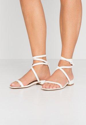 GRACE - Sandals - white