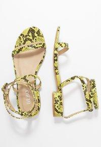 BEBO - GRACE - Sandals - neon - 3
