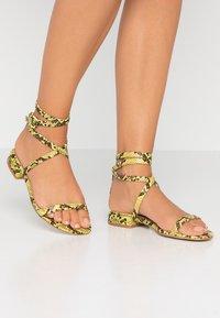 BEBO - GRACE - Sandals - neon - 0