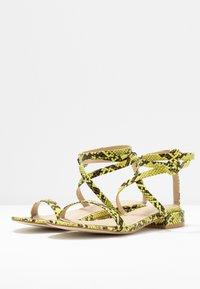 BEBO - GRACE - Sandals - neon - 4