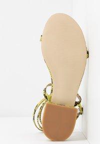 BEBO - GRACE - Sandals - neon - 6