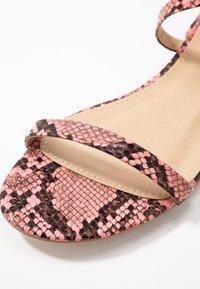 BEBO - GRACE - Sandals - pink - 2