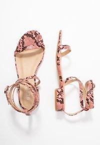 BEBO - GRACE - Sandals - pink - 3