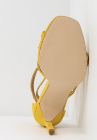 BEBO - OSSIAN - High heeled sandals - yellow - 6