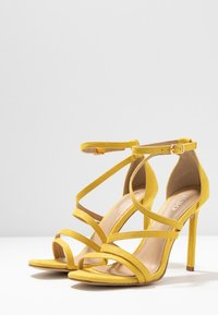 BEBO - OSSIAN - High heeled sandals - yellow - 4