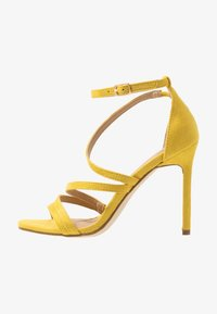 BEBO - OSSIAN - High heeled sandals - yellow - 1