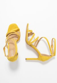 BEBO - OSSIAN - High heeled sandals - yellow - 3