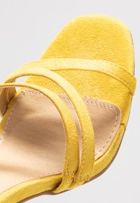 BEBO - OSSIAN - High heeled sandals - yellow - 2