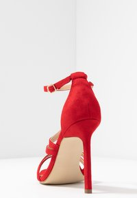 BEBO - OSSIAN - High heeled sandals - red - 5