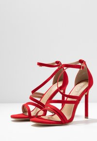 BEBO - OSSIAN - High heeled sandals - red - 4