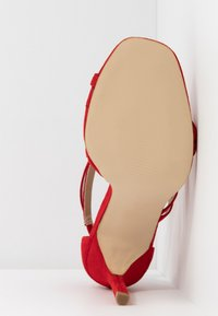 BEBO - OSSIAN - High heeled sandals - red - 6