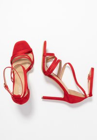 BEBO - OSSIAN - High heeled sandals - red - 3